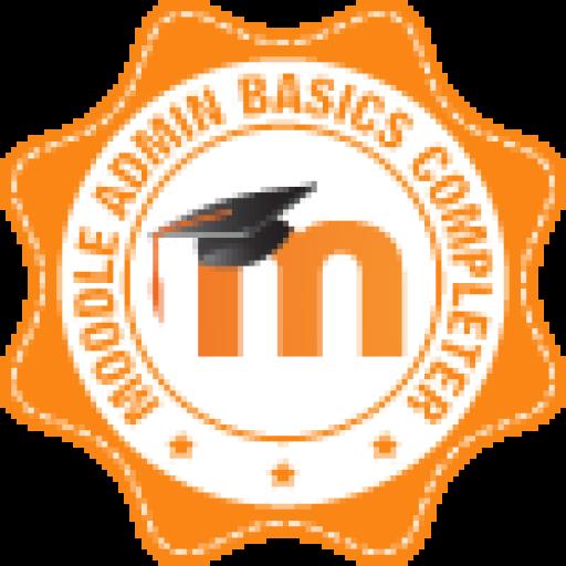 Знак награды Преподавателя Moodle Экологическая Академия Обучение по Экологической Безопасности