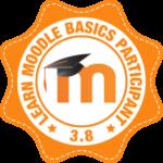 Знак награды Администратора Moodle Экологическая Академия Обучение по Экологической Безопасности