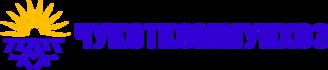 Логотип Чукоткоммунхоз - синий и желтый клиент Экологической Академии обучение по экологии