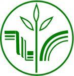 Эмблема Экологическая Академия зелёный на белом фоне